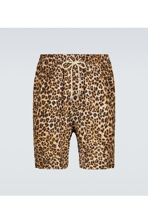 Nanushka Herren Shorts - Bedruckte Shorts Doxxi mit Kordelzug