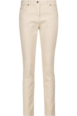 Brunello Cucinelli High-Rise Skinny Jeans