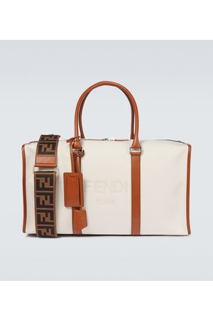 Fendi Reisetasche mit Leder