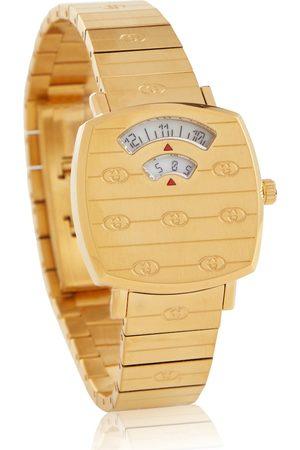 Gucci Uhr Grip 27mm aus Edelstahl