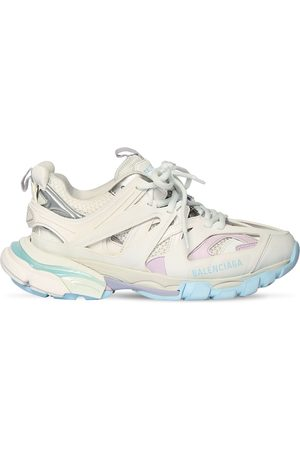 "Balenciaga 60mm Hohe Sneakers Aus Kunstleder ""track 2.0"""