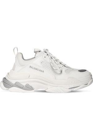 """Balenciaga 60mm Hohe Ledersneakers """"triple S Faux"""""""