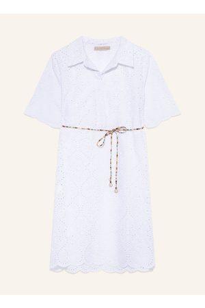 RINASCIMENTO Kleid Aus Lochspitze weiss