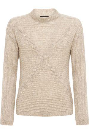 Armani Sweater Aus Kaschmir- Und Seidenstrick