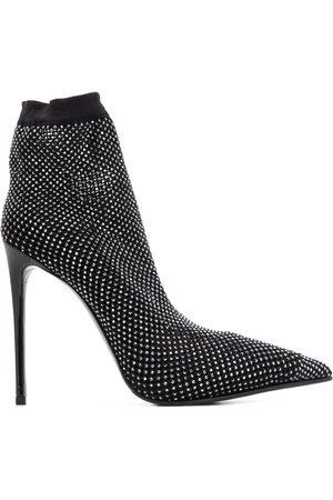Le Silla Studded 115mm heel sock boots