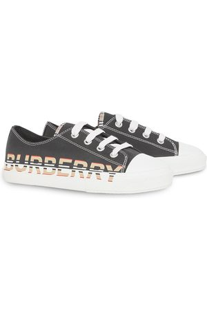 Burberry Logo-print lace-up sneakers
