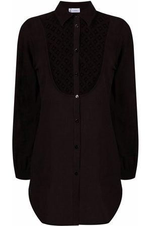La Perla Damen Shirts - Cut out-detail button-up shirt