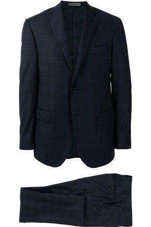 Corneliani Academy check-pattern suit