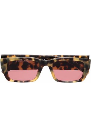 Palm Angels Sonnenbrillen - Angel rectangle-frame sunglasses