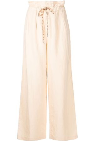 Alice+Olivia Henry paperbag-waist trousers