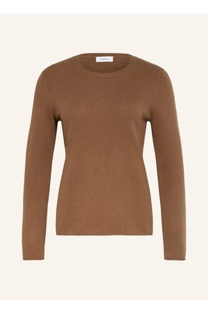 DARLING HARBOUR Cashmere-Pullover braun