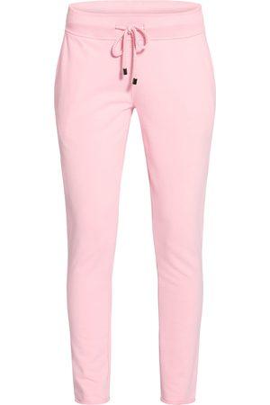 Juvia Damen Lange Hosen - Sweatpants pink