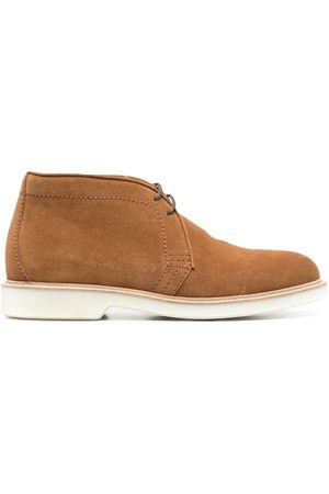Brunello Cucinelli Lace-up suede boots