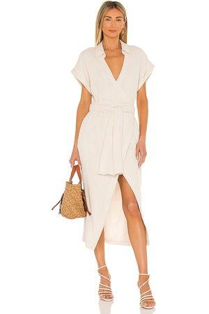 L'Academie Danica Midi Dress in - . Size L (also in XXS, XS, S, M).