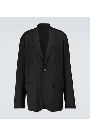Balenciaga Oversize-Blazer aus Tech-Material