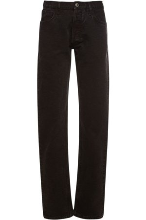 THE ATTICO Boyfriend-jeans Aus Canvas