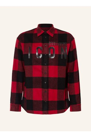 Dsquared2 Overshirt Aus Flanell