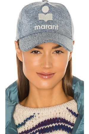 Isabel Marant Tyron Hat in - Blue. Size all.