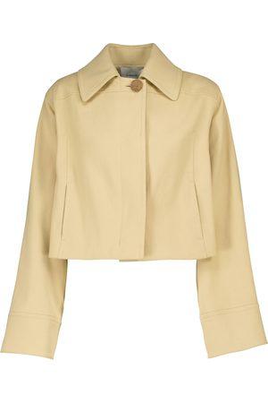 Vince Cropped-Jacke aus Baumwolle