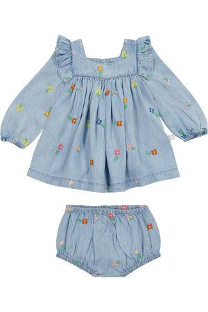 Stella McCartney Baby Set aus Jeanskleid und Höschen