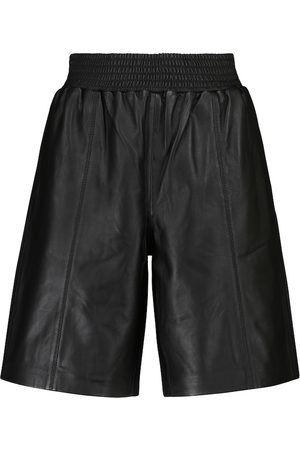 Frame Shorts Gym aus Leder