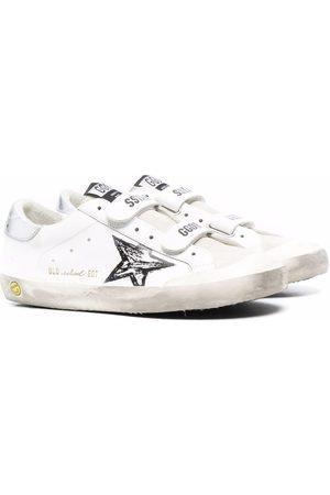 Golden Goose Superstar distressed-effect sneakers