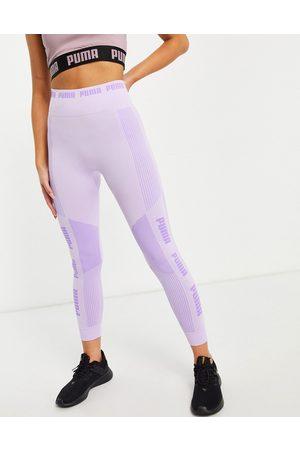 PUMA Training Evoknit seamless leggings in lilac-Purple