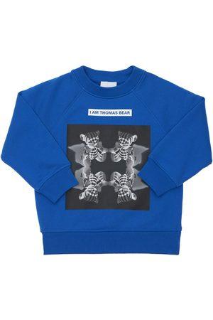BURBERRY Bedrucktes Sweatshirt Aus Baumwolle