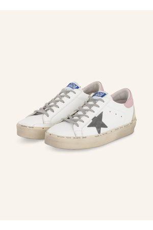 Golden Goose Plateau-Sneaker Hi Star weiss