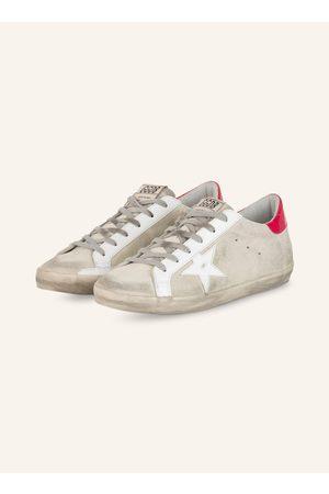 Golden Goose Damen Sneakers - Sneaker Superstar grau