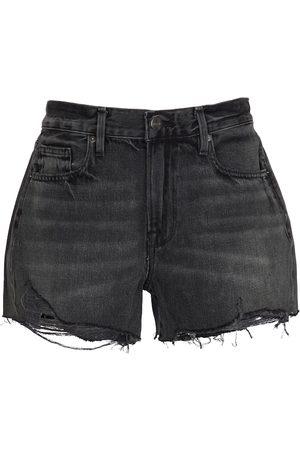 Frame High-Rise-Shorts Le Brigette