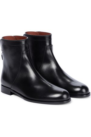 Loro Piana Ankle Boots Welly aus Leder