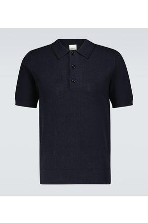 Burberry Poloshirt Selwin mit Seidenanteil