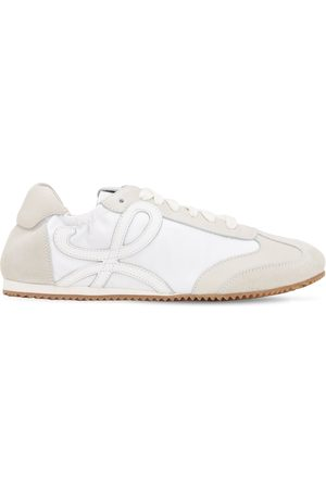 "Loewe 10mm Sneakers Aus Wildleder & Nylon ""ballett"""