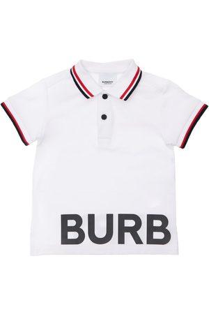 Burberry Polohemd Aus Baumwollpiqué