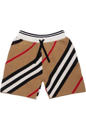 Burberry Herren Shorts - Shorts Aus Merino/wollmischung
