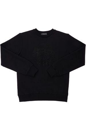 VERSACE Verziertes Sweatshirt Mit Medusa