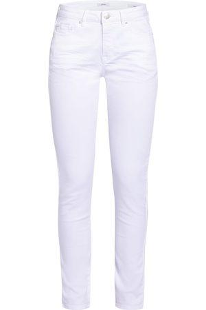Opus Skinny Jeans Elma weiss