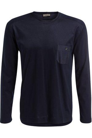 Zimmerli Herren Schlafanzüge - Schlafshirt blau