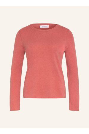 DARLING HARBOUR Damen Strickpullover - Cashmere-Pullover rosa