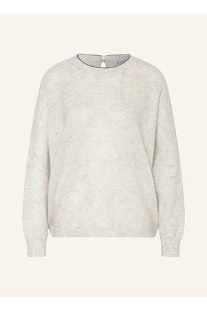 BRUNELLO CUCINELLI Damen Strickpullover - Pullover grau