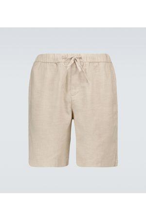 Frescobol Carioca Shorts aus Baumwolle und Leinen