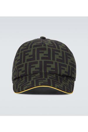 Fendi Herren Hüte - Baseballcap FF aus Canvas