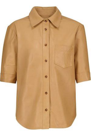 Frame Hemd 70s aus Leder