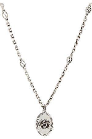 Gucci Halskette Double G aus Sterlingsilber