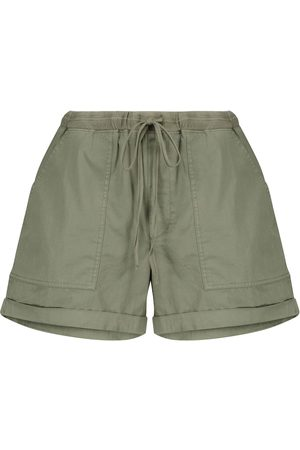 Velvet Shorts Tenley aus Baumwoll-Twill