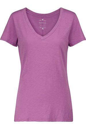 Velvet T-Shirt Lilith aus Baumwolle