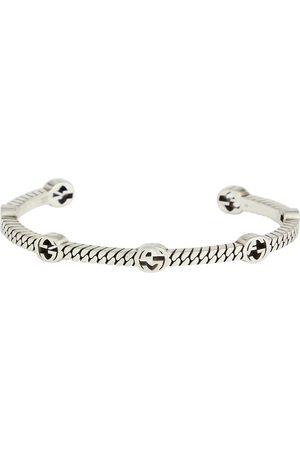 Gucci Damen Armbänder - Armreif GG aus Sterlingsilber
