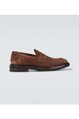 Brunello Cucinelli Loafers aus Veloursleder
