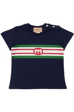 Gucci T-shirt Mit Logodruck